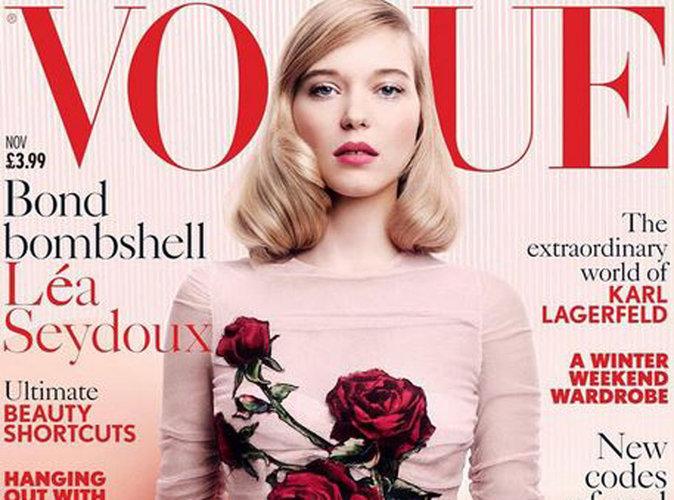 Léa Seydoux : divine en une de Vogue UK !