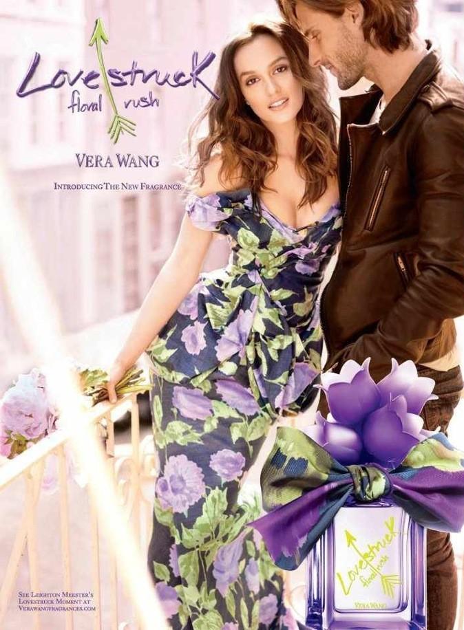 Leighton Meester, une égérie fleurie pour Vera Wang !