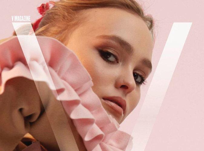 Lily-Rose Depp : mystérieuse pour sa première couverture de V Magazine !