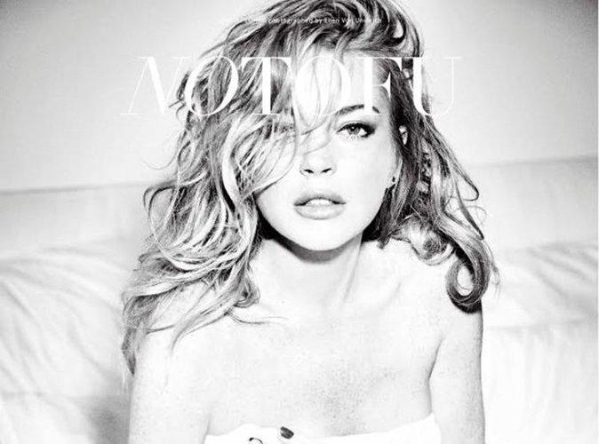 Lindsay Lohan fait son grand retour en une de No Tofu !