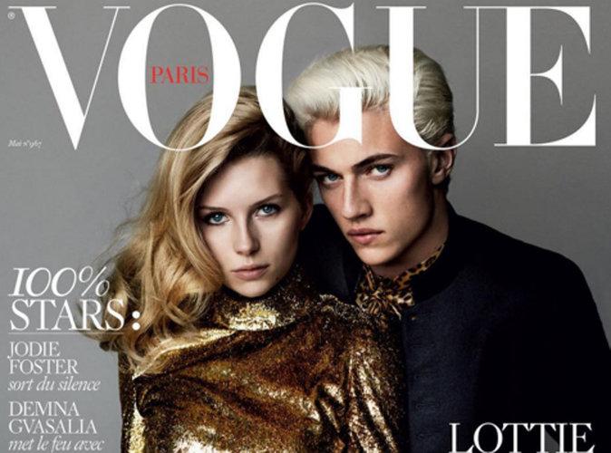 Lottie Moss et Lucky Blue Smith : la jeune garde prend la relève en couverture de Vogue Paris