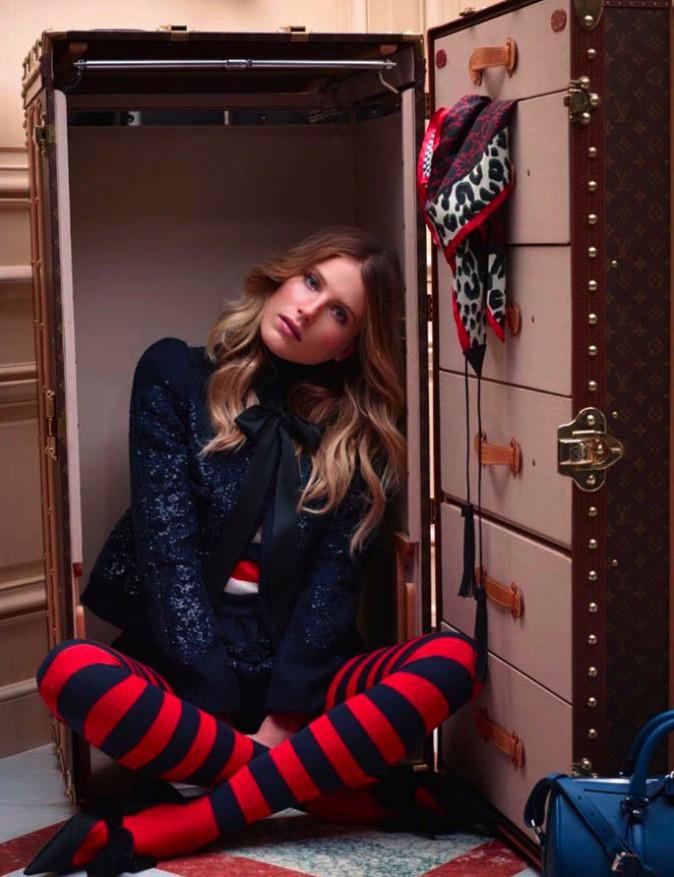 Louis Vuitton : Dree Hemingway, ambassadrice de charme pour la pré-collection de chaussures automne 2013DR