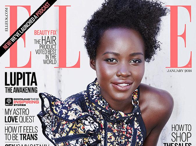 Lupita Nyong'o : pure beauté en une de ELLE UK !