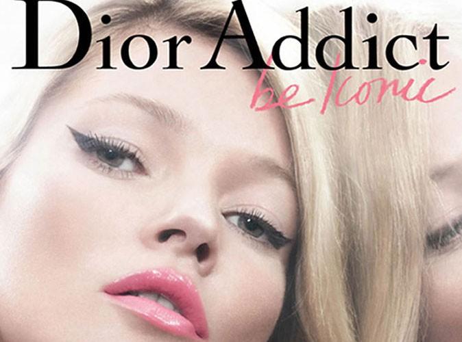 Maquillage : Kate Moss est l'égérie glam des rouges à lèvres Dior Addict