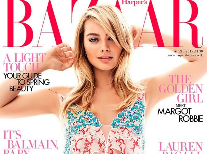 Mode : Margot Robbie : divine et sexy pour le Harper's Bazaar UK !