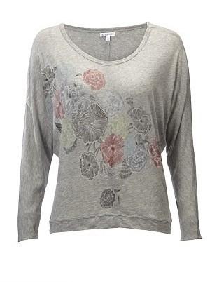 T-shirt gris à motifs floral : 20£ !