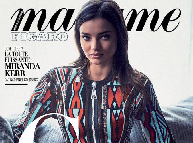 Miranda Kerr : captivante en couverture de Madame Figaro !