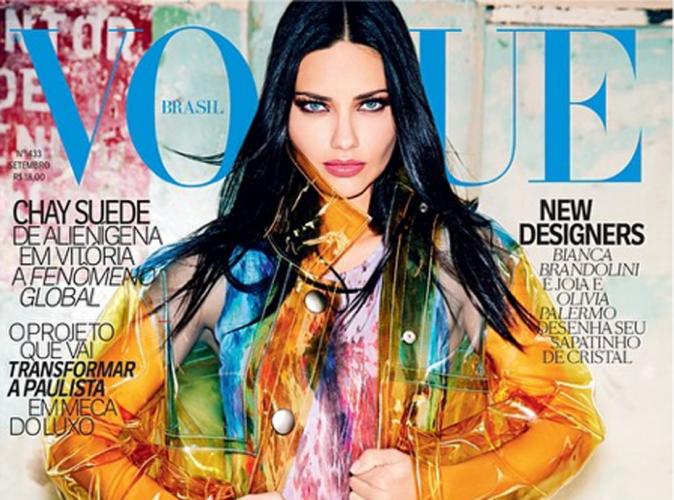 Mode : Adriana Lima : fière de représenter son pays pour la couverture de Vogue Brasil !