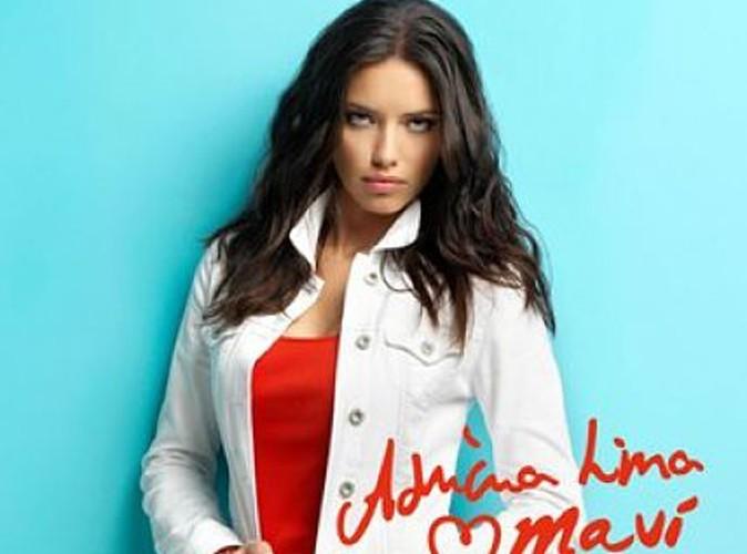 Mode : Adriana Lima, une future maman bombastique pour Mavi Jeans !