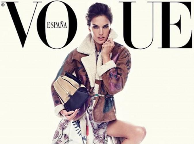 Mode : Alessandra Ambrosio : beauté fatale en couverture de Vogue Espagne !