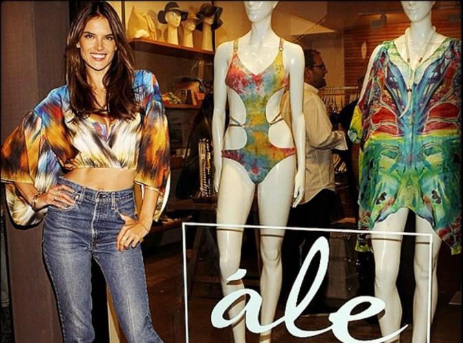 Mode : Alessandra Ambrosio : superbe au lancement de sa ligne de maillots de bain !