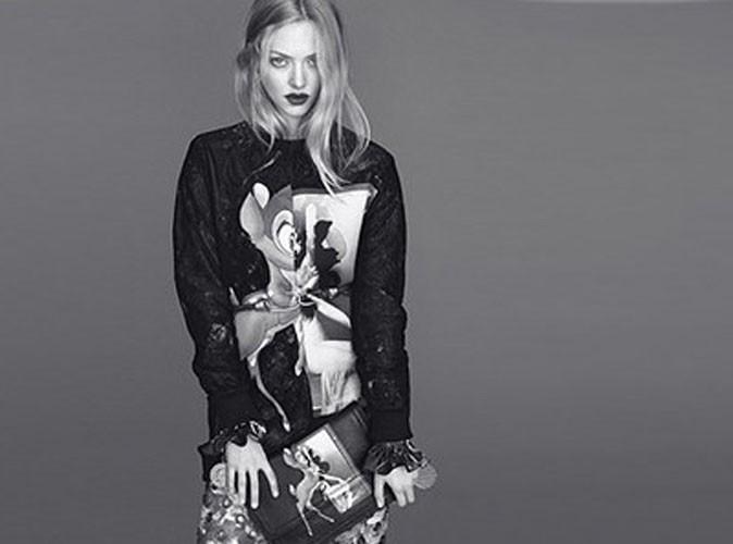 Mode : Amanda Seyfried : sublime femme-enfant pour Givenchy !