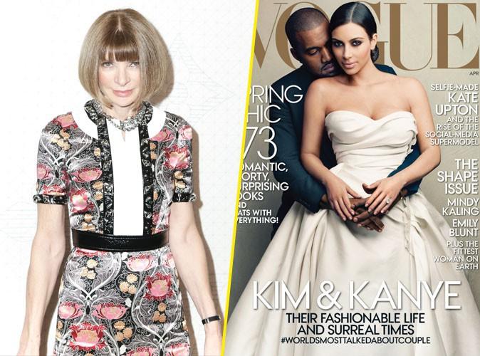 Mode : Anna Wintour : elle avoue ce qu'elle pense vraiment de la Une avec Kim et Kanye !