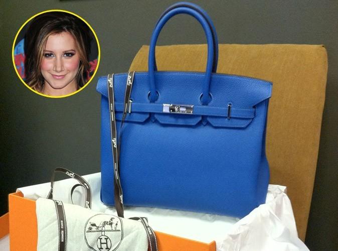 Mode : Ashley Tisdale a enfin reçu son sac Birkin de chez Hermès !