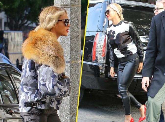 Mode : Beyoncé : elle se dit végétarienne mais porte de la fourrure et du cuir !