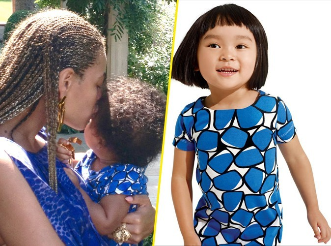 Mode : Beyoncé habille sa fille Blue Ivy en Gap !