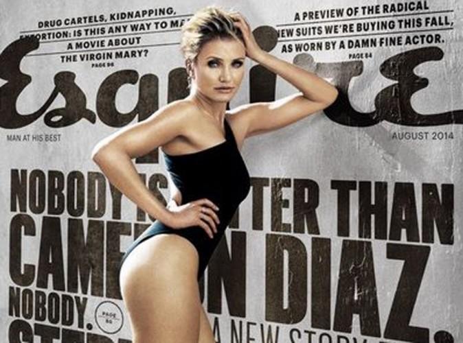Mode : Cameron Diaz : cover girl sexy d'Esquire, vous la découvrirez prochainement nue !