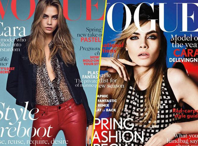 Mode : Cara Delevingne : en une du Vogue anglais pour la deuxième fois, quelle couverture préférez-vous ?