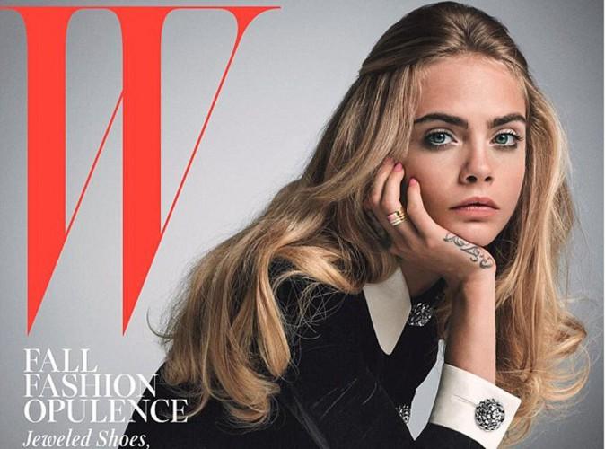 Mode : Cara Delevingne : petite fille sage sur la couverture de W Magazine !