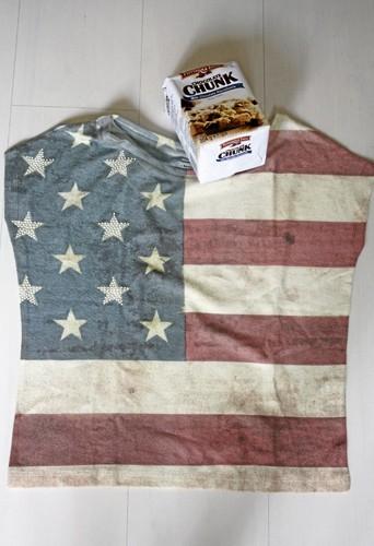 T-shirt imprimé drapeau, Bershka, 25,99€