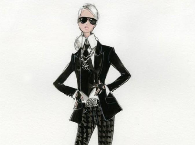 Mode : découvrez la Barbie Karl Lagerfeld de Mattel !