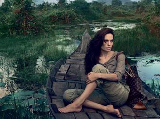 """Mode : découvrez la nouvelle campagne de Louis Vuitton """"Core Values"""" avec Angelina Jolie !"""