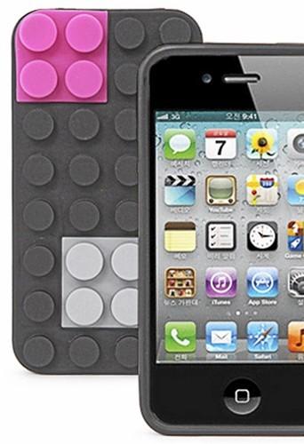 Pour iPhone : Coque Lego, connectdesign.co.kr 22,50 €