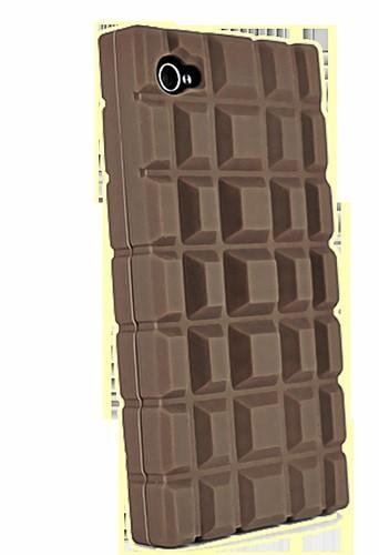 Pour iPhone : Coque tablette de chocolat, technitis.com 10,89 €