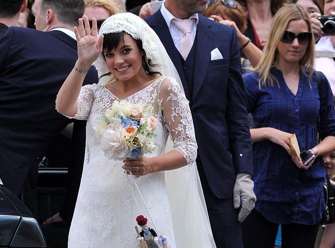 Mode : découvrez pourquoi Lily Allen ne s'est pas mariée en Chanel ! (réactualisé)