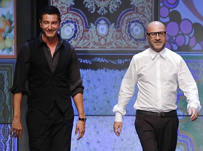 Mode: Dolce & Gabbana: les deux créateurs envisagent déjà la fermeture de leurs boutiques !