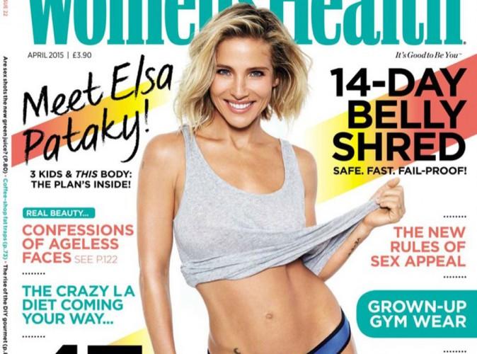 Mode : Elsa Pataky : une maman au corps de rêve en couverture de Women's Health !