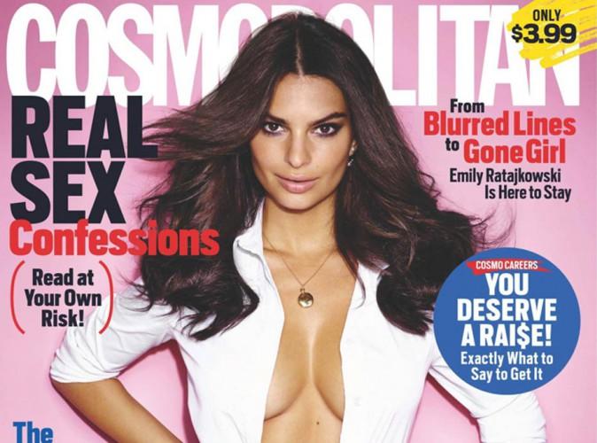 Mode : Emily Ratajkowski, cover girl sexy pour Cosmopolitan UK !