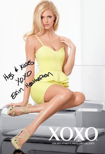 Erin Heatherton pour la collection 2013 de XOXO.
