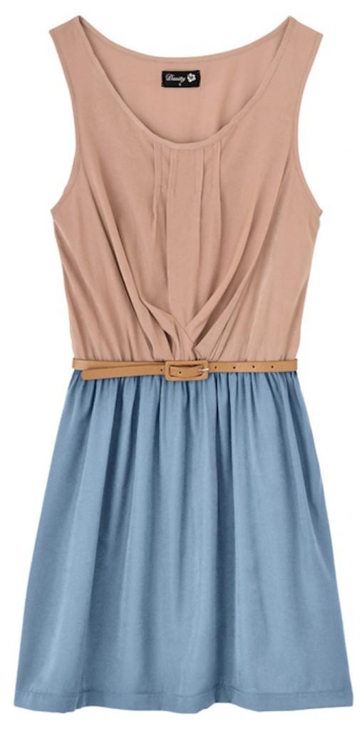 Robe bicolore, Danity, 59 euros
