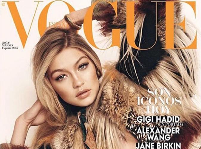 Mode : Gigi Hadid cover-girl pour Vogue Espagne !