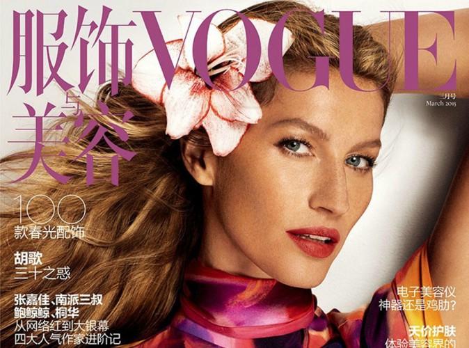 Mode : Gisele Bündchen : La top brésilienne enflamme une couverture de plus !