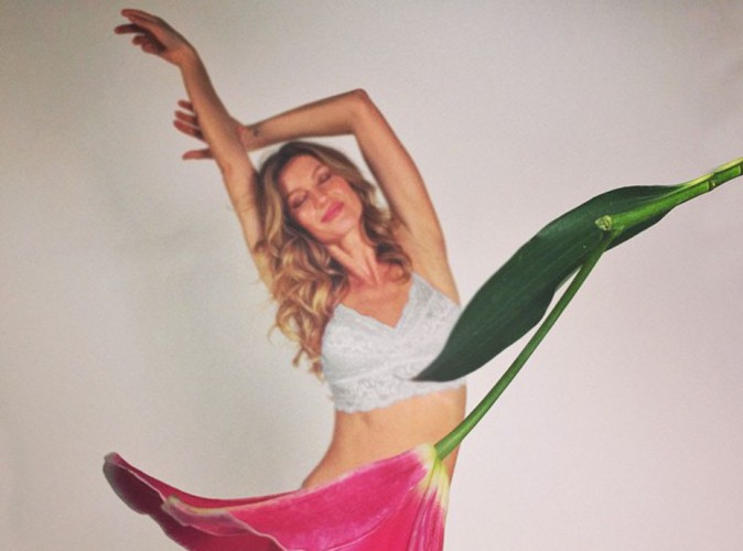 Mode : Gisèle Bündchen nous éblouit pour sa nouvelle campagne Intimates !
