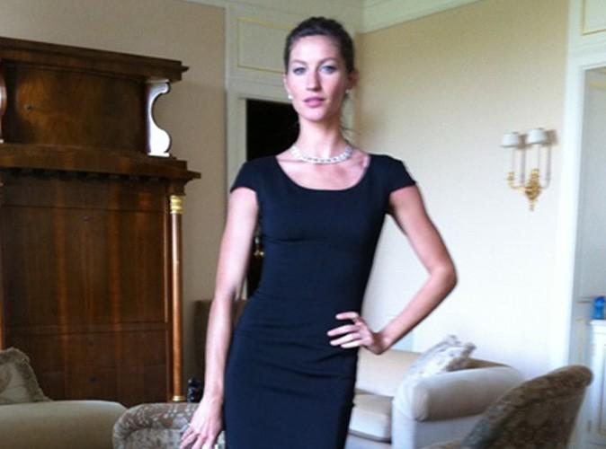 Mode: Gisele Bündchen s'habille en Victoria Beckham !