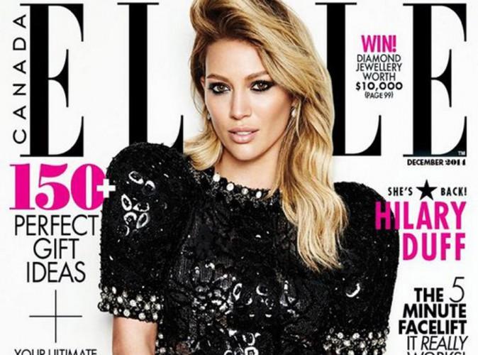 Mode : Hilary Duff : la cover girl de ELLE dévoile tout !