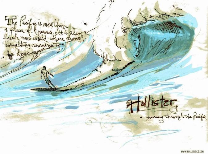 Mode:  Hollister Co débarque en France...