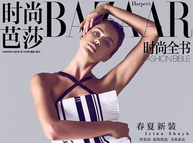 Mode : Irina Shayk : sensuelle, elle prend la pose pour Harper's Bazaar !