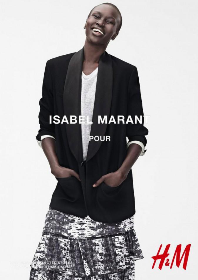 Alek Wek pour Isabel Marant x H&M