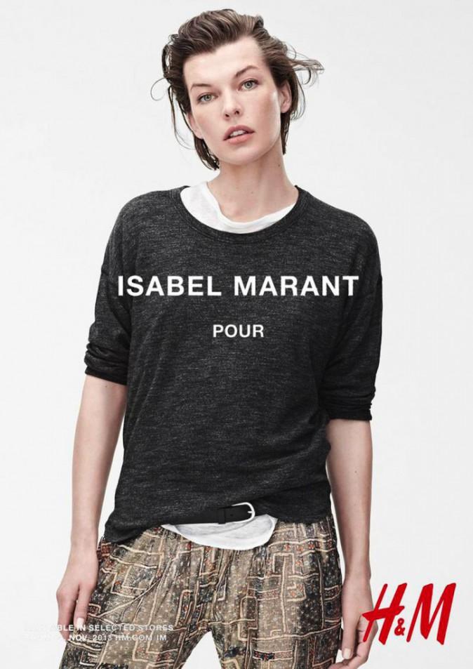 Milla Jovovich pour Isabel Marant x H&M