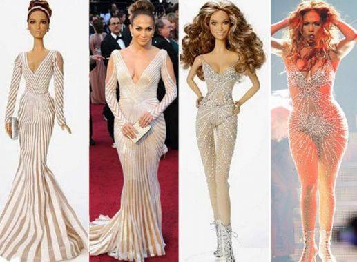 Mode jennifer lopez sa barbie sans formes cr e la pol mique - Jennifer lopez grosse ...