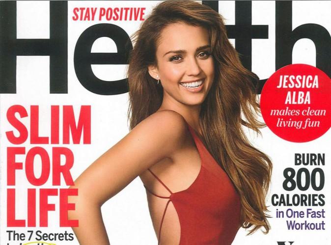 Mode : Jessica Alba : divinement moulée, elle exhibe ses courbes en couverture du Health Magazine !