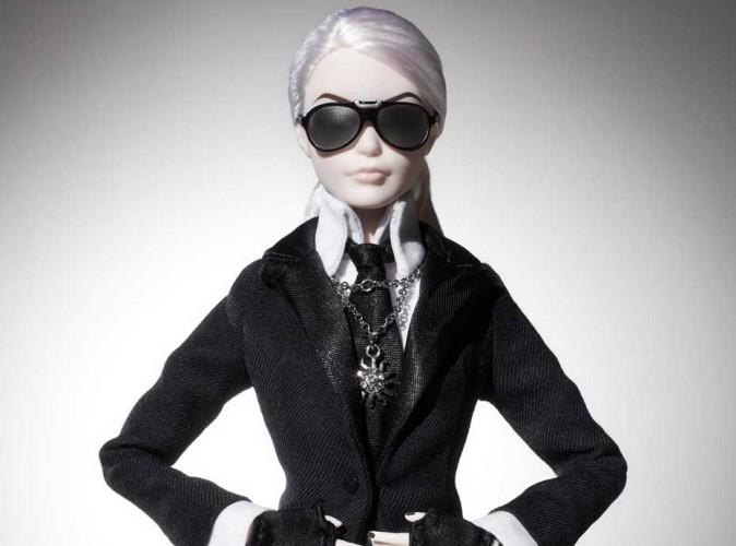 Mode : Karl Lagerfeld : sa poupée Barbie très ressemblante sort fin septembre !