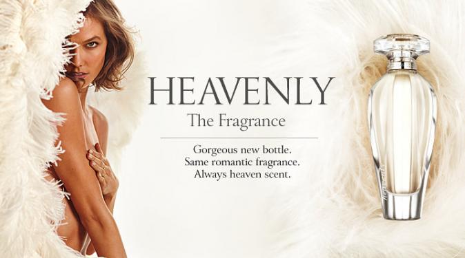 Mode : Karlie Kloss : divine pour le parfum Heavenly de Victoria Secret !