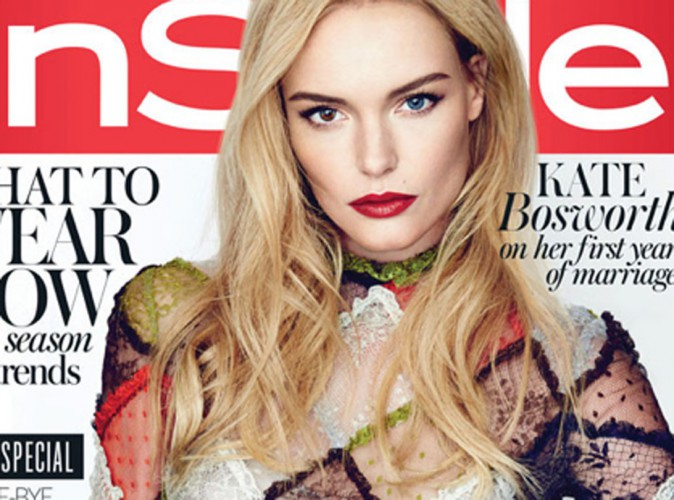 Mode : Kate Bosworth : en couverture du magazine InStyle U.K, la jolie blonde confie ses envie de pouponner  !