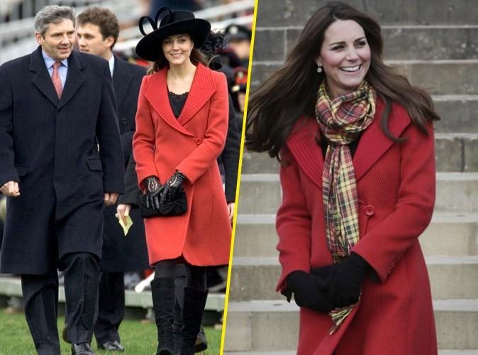 Mode : Kate Middleton recouvre son ventre de femme enceinte avec un manteau recyclé de 2006 !