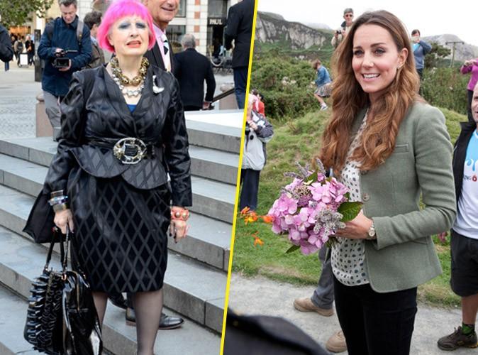 Mode : Kate Middleton : une styliste punk veut bousculer le style trop classique de la Duchesse !